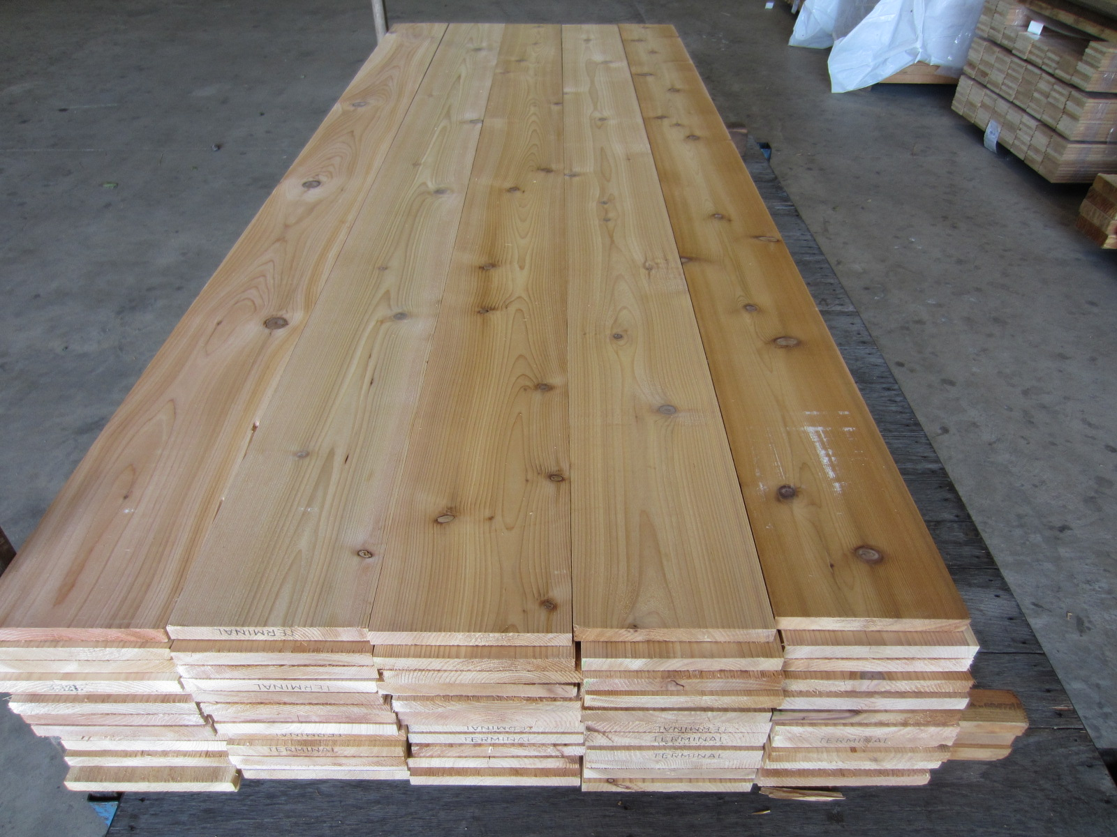 Western Red Cedar Timbers And Lumber Grade Pictures